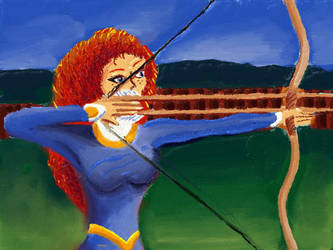 Merida twinn arrows by davidartistic
