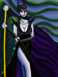 Maleficent thorns by davidartistic