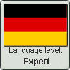 German Language Level: Expert by gaaradesert6