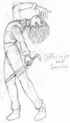 Pirateking_giftart_Sancho by Reashi