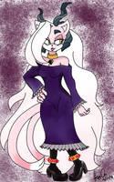 JB the Demon Cat Sith 'Gothic taste' :CE: by KayceInk