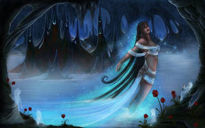Lethe, Hellenic Goddess of Oblivion-Forgetfulness by EmanuellaKozas