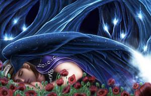 Hellenic Mythology - Hypnos, The God of Sleep by EmanuellaKozas