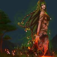 Hellenic Mythology - Gaia, The Earth Mother by EmanuellaKozas