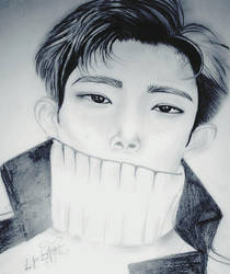 SEVENTEEN DOKYEOM FAN ART by dannawi