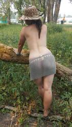 Chainmail Micro Mini Skirt.  (Part 3) by ChainDreamzDesign