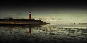 ... lighthouse ... by MOSREDNA