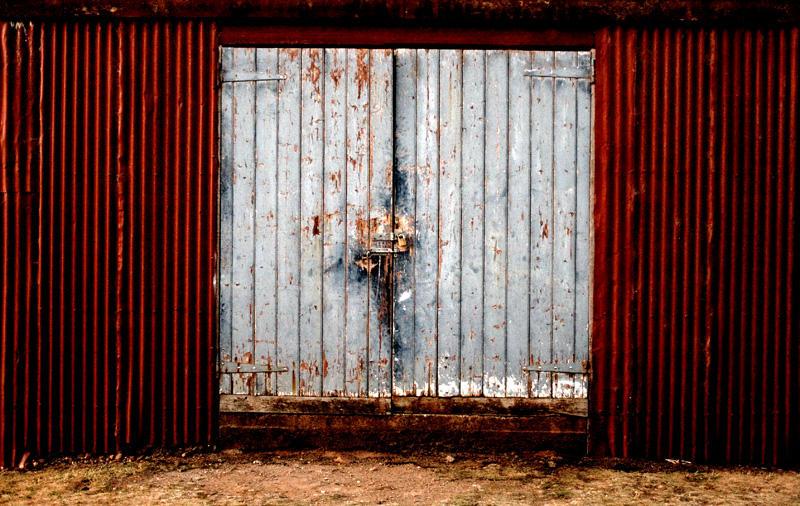 Homestead Stock: Closed Doors by Beyond-Oddities