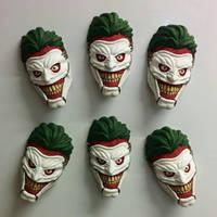 Joker (Death of the family) magnets by creaturecreationUK