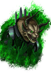 Charr Necromancer from Guild Wars 2 by creaturecreationUK