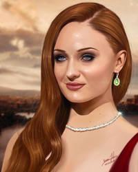 Sansa Stark by Predator2104