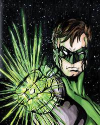 Green Lantern Commission by mmunshaw