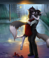 2015 Commission for LadyLoki by A-BlueDeer