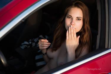 Diana - Naked Drive Thru by FameGirlsElla