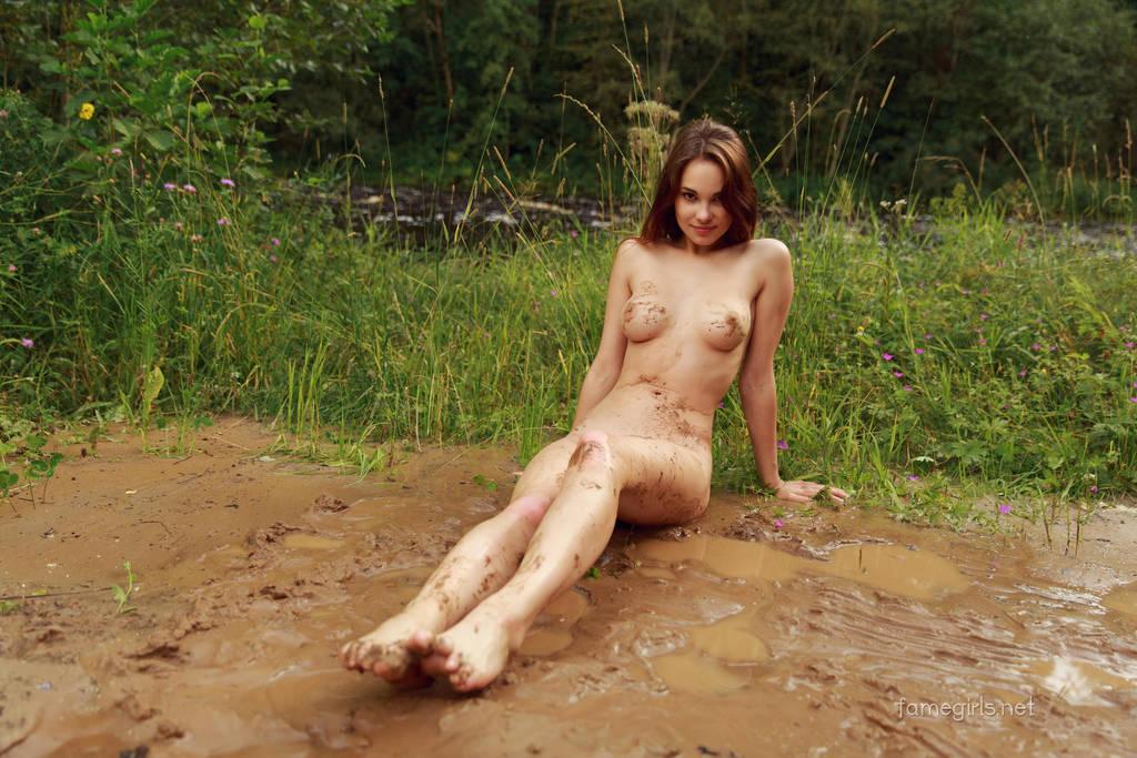 Diana - Playing in mud by FameGirlsElla