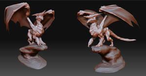 Dragon Sculpture by vkucukemre