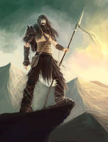 barbarian by vkucukemre