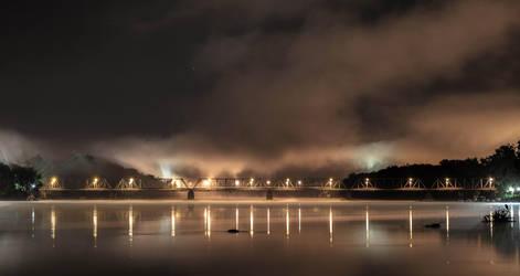 New Hope/Lambertville Bridge by dallasgutauckis