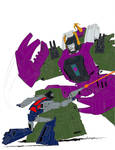 Scorponok Vs Highbrow by Dairugger