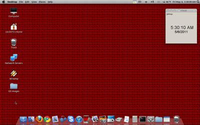 My Ubuntu desktop by Cecil475