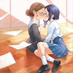 kiss by garun