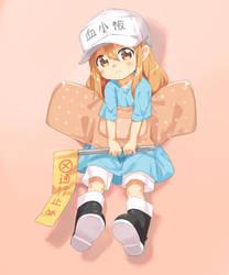 Platelet-chan! by garun