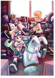 character design mechanic by garun