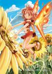 The Sunflower Fairy by garun