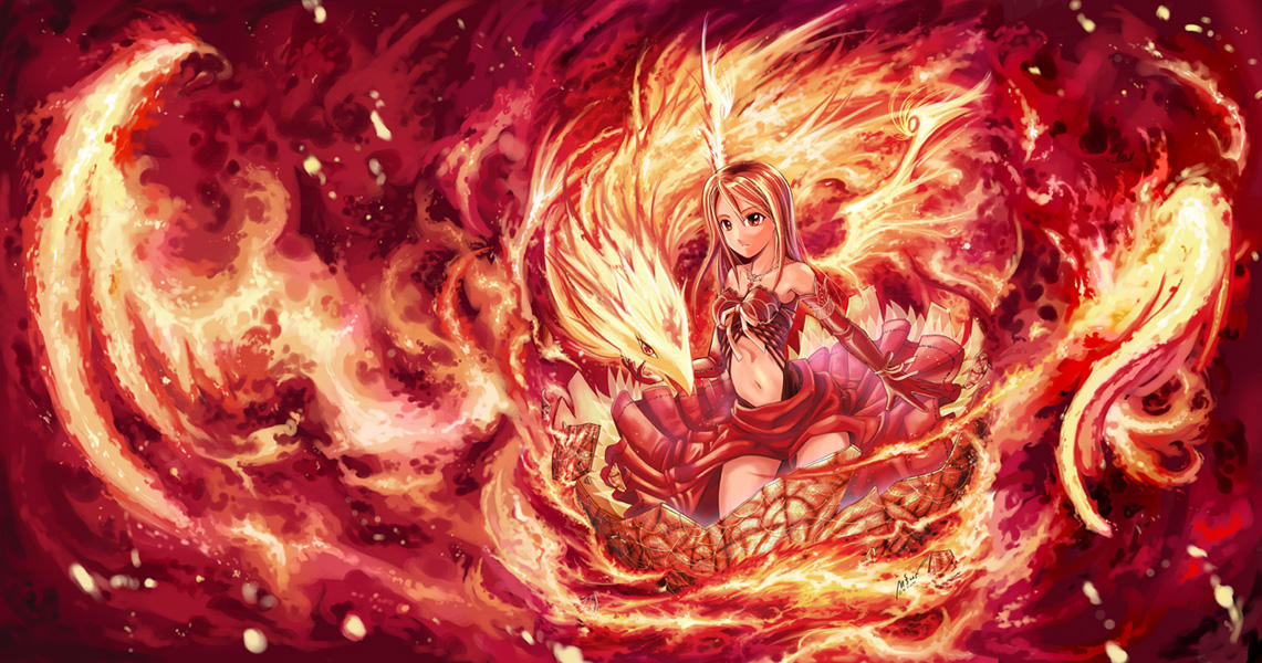 Angel of fire rebirth by garun