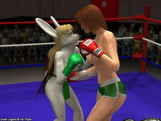Tetsuo72- GL vs. Shannon 1 by Green-Legend
