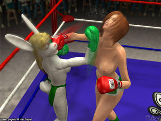Tetsuo72- GL vs Shannon 2 by Green-Legend
