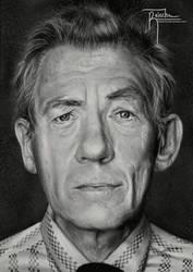 Sir Ian McKellen by Raiecha