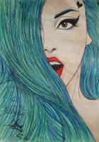 Lady Gaga by UnPredictableGirl