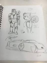 Siren sketch by Crasher55