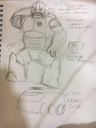 Sine (rough sketch) by Crasher55
