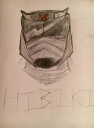 Hibiki Headshot by Crasher55