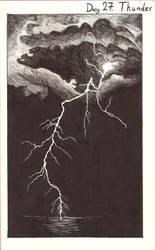 Inktober day 27: Thunder by AlbinoNightmare