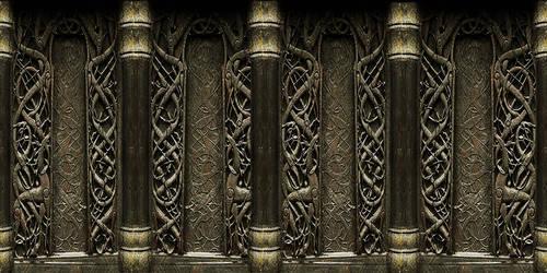 Viking Walls by RaphaellaNightfire