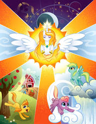 Equestria in Harmony Poster - Contest Entry by TimothyB