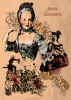 Marie Antoinette by angel-paradox