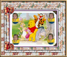 Me and Pooh by hawaiiansunset36