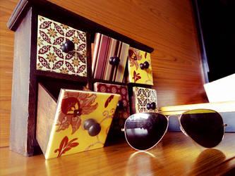 Vintage Sunglasses by AncesTTraL