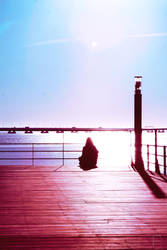 Pier Meditating by AncesTTraL