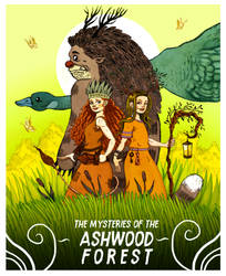 Mysteries of the Ashwood Forest by Gytrash01