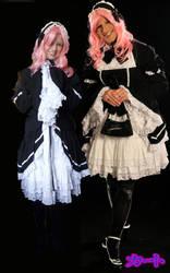 Princess Princess Twin Mikotos by Kato-Shiroi
