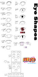 Naruto Character Guide: Eyes by anniberri