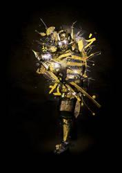 Yellow Armor by Jasperio