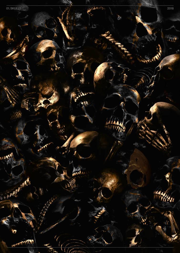 Skulls by Jasperio