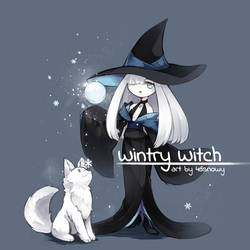 OC - Wintry Witch by 46snowy