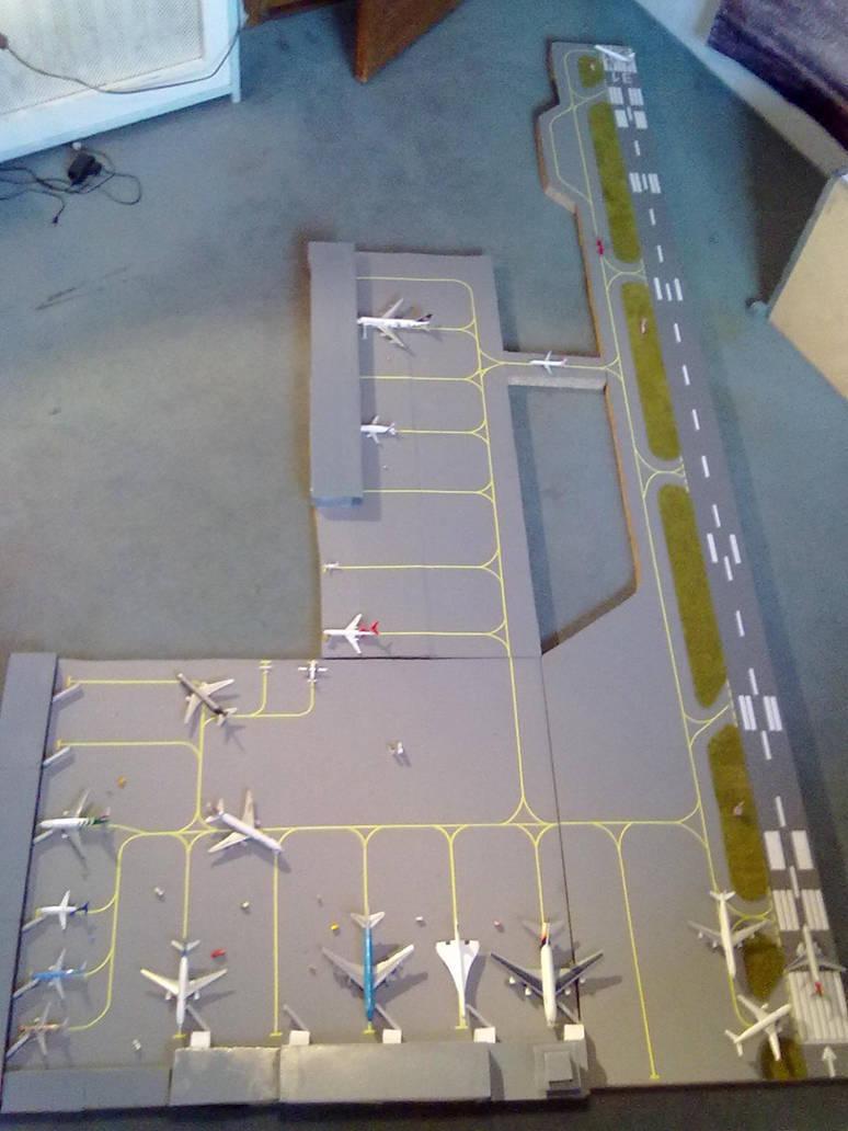 Kai Tak 1 500 escale airport by victordragon747
